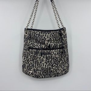 Grace Adele Ocelot Adjustable Purse